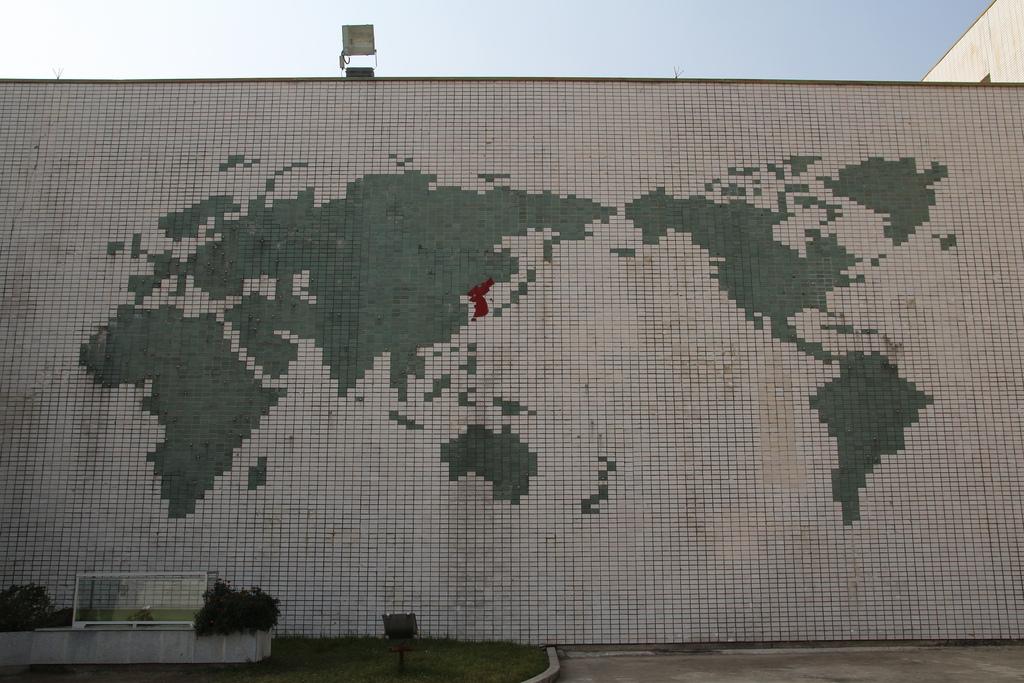 Pohjois-Korea, tuo maailman keskipiste