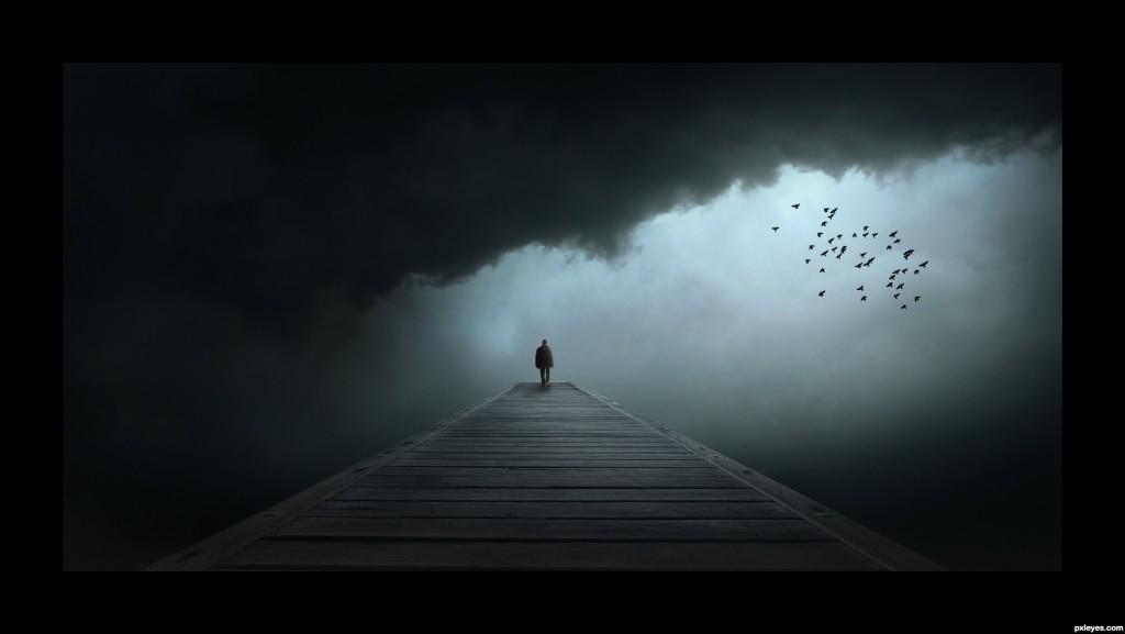 Dystopioiden maailmassa voi olla yksinäistä ja ankeata.