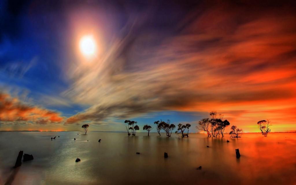 streaking_sun