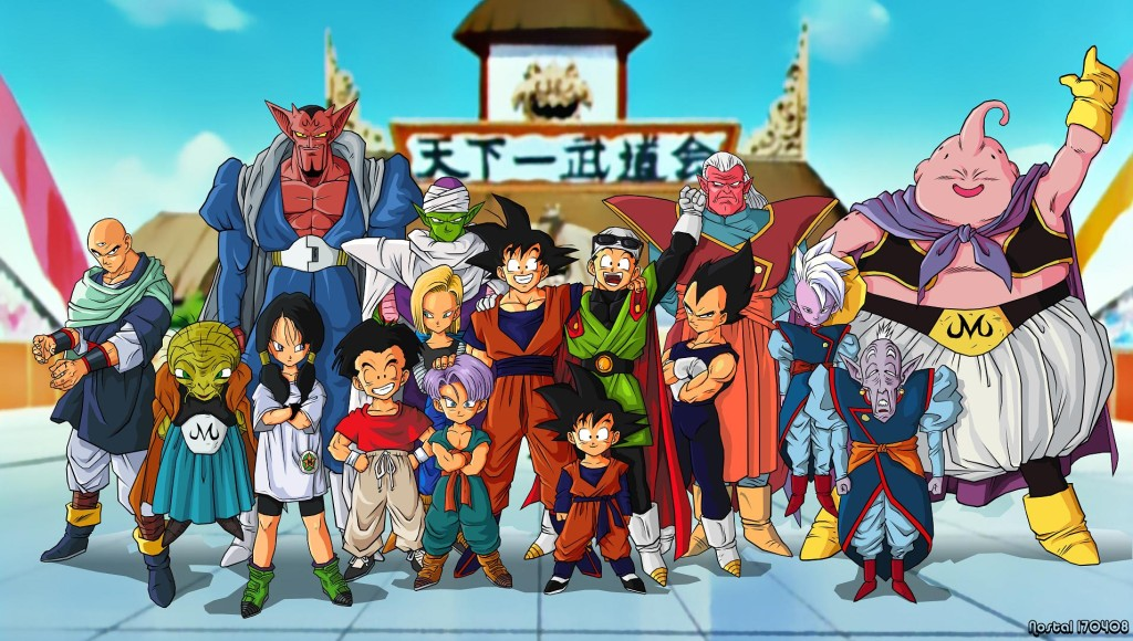 Dragon Ballin värikäs maailma.