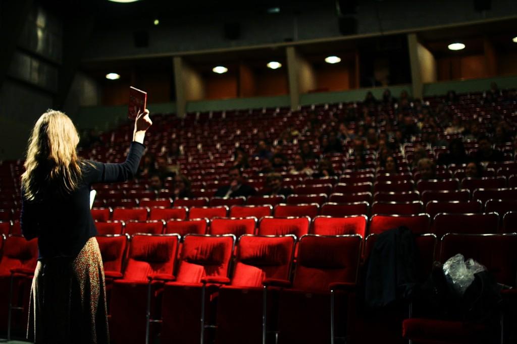 BioRexin elokuvasalissa oli tilaa monelle sadalle ihmiselle.