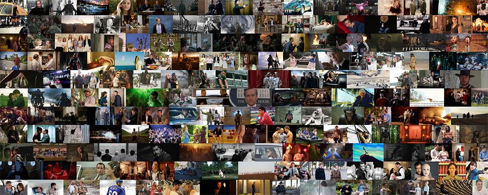 Maailman mahtuu paljon elokuvia.