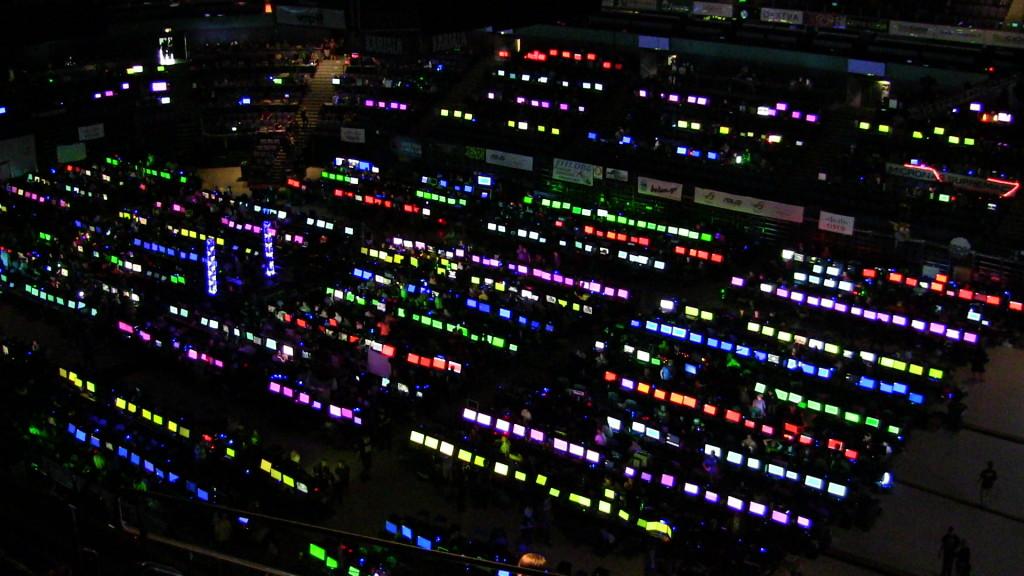 Pelitapahtuma Assembly kokoaa vuosittain tuhansia tietokoneharrastajia Hartwall Areenalle.