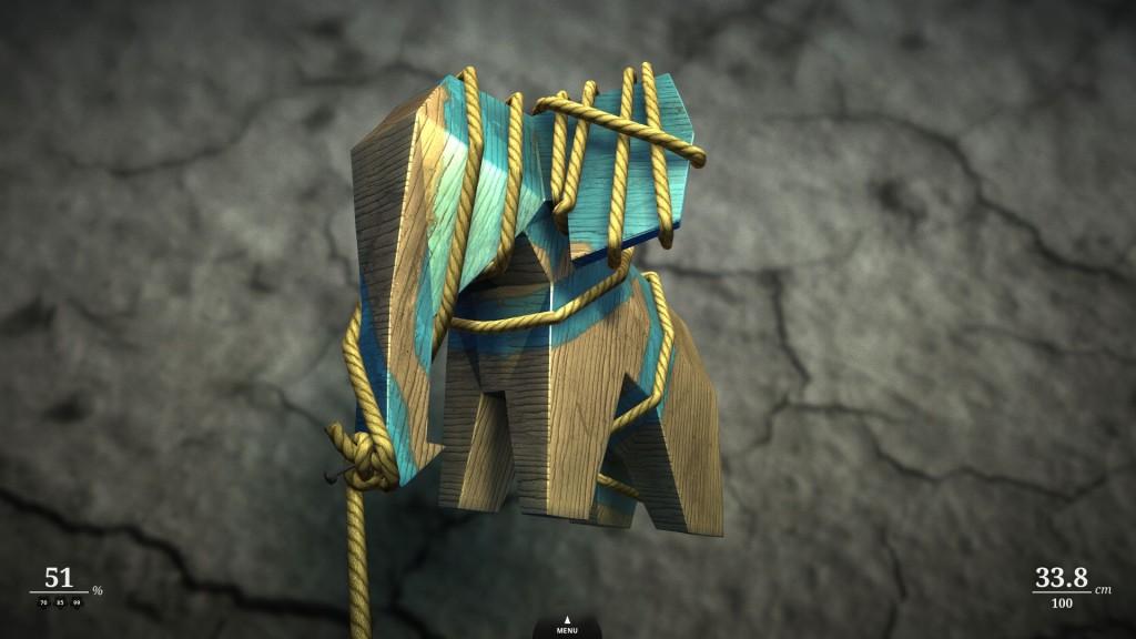 Zen Bound peli tarjoaa puzzlemaisia aivopähkinöitä ja hypnoottista tunnelmaa.